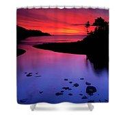 Nova Scotia Sunrise Shower Curtain