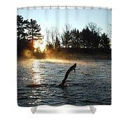 November Morning Mist Shower Curtain