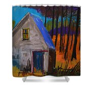 November Sunset Shower Curtain