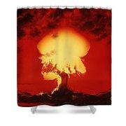 Nuclear Explosion Shower Curtain