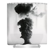 Nuclear Test Site Shower Curtain