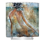 Nude 564213 Shower Curtain