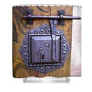 Nuremberg Castle Door Lock Shower Curtain