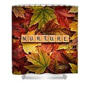 Nurture-autumn Shower Curtain