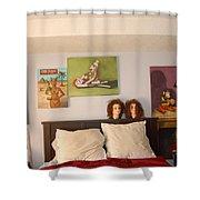 Nut House 3 Shower Curtain