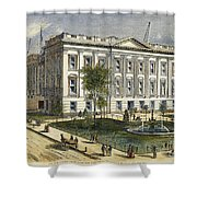 Ny County Courthouse Shower Curtain