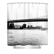 Nyc - Manhattan Bridge Shower Curtain
