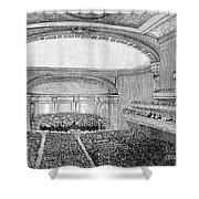 Nyc: Carnegie Hall, 1891 Shower Curtain