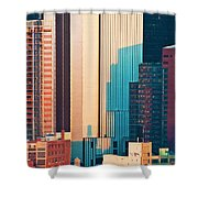 Nyc Colors And Lines II Shower Curtain