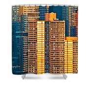 Nyc Colors And Lines IIi Shower Curtain