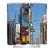 Nyc Directions Shower Curtain