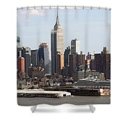 Nyc In The Afternoon Shower Curtain