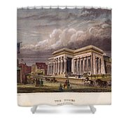 Nyc: The Tombs, 1850 Shower Curtain