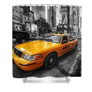 Nyc Yellow Cab Shower Curtain