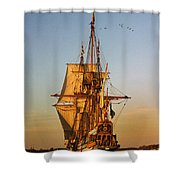 Nyckel On The Chester Shower Curtain by Skip Willits