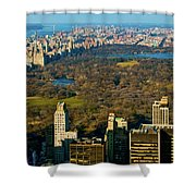Nyc's Uber Park Shower Curtain