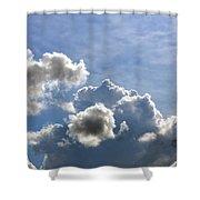 O Spacious Skies Shower Curtain