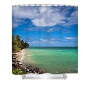 Oahu Solace Shower Curtain