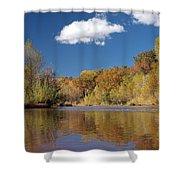 Oak Creek Reflection Shower Curtain