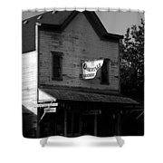 Oakville Hardware 1890 Shower Curtain