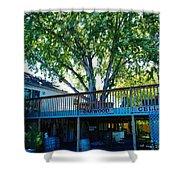 Oakwood Cellers Shower Curtain by Jeff Swan