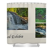 Oakwood Exhibit Shower Curtain