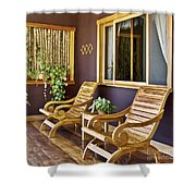 Oasis Of Calm Shower Curtain
