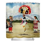 Oaxaca Dancers Shower Curtain