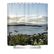 Oban Bay View Shower Curtain
