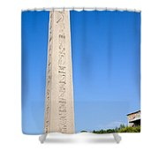 Obelisk Of Theodosius Shower Curtain