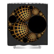Objects In Motion - Objects At Rest Shower Curtain