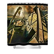 O'brien Life Boat Shower Curtain