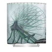Oc Ferris 04 Shower Curtain