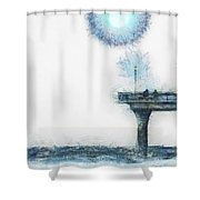 Occasional Friends Shower Curtain
