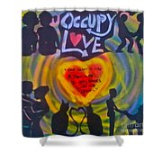 Occupy The Heart Shower Curtain