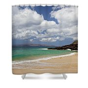 Ocean And Sky Of Makena Beach Shower Curtain