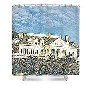 Ocean Drive Mansion Ri Shower Curtain
