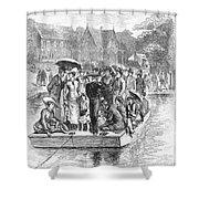 Ocean Grove Ferry, 1878 Shower Curtain