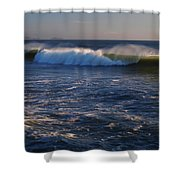 Ocean Of The Gods Series Shower Curtain