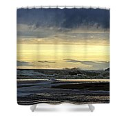 Ocean Power Series Shower Curtain