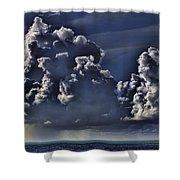 Ocean Rains Shower Curtain