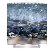 Ocean Stones Shower Curtain