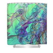 Ocean Symphony II Shower Curtain