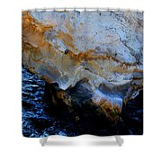 Shell Beach Ocean Tunnel Shower Curtain