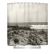Ocean Wave View Shower Curtain