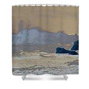 Ocean Waves On The Oregon Coast Shower Curtain
