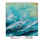 Ocean's Melody Shower Curtain