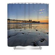 Oceanside Pier Shower Curtain