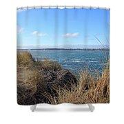 Beach Oceanview Shower Curtain
