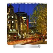 Oconnell Street Bridge, Dublin, Co Shower Curtain